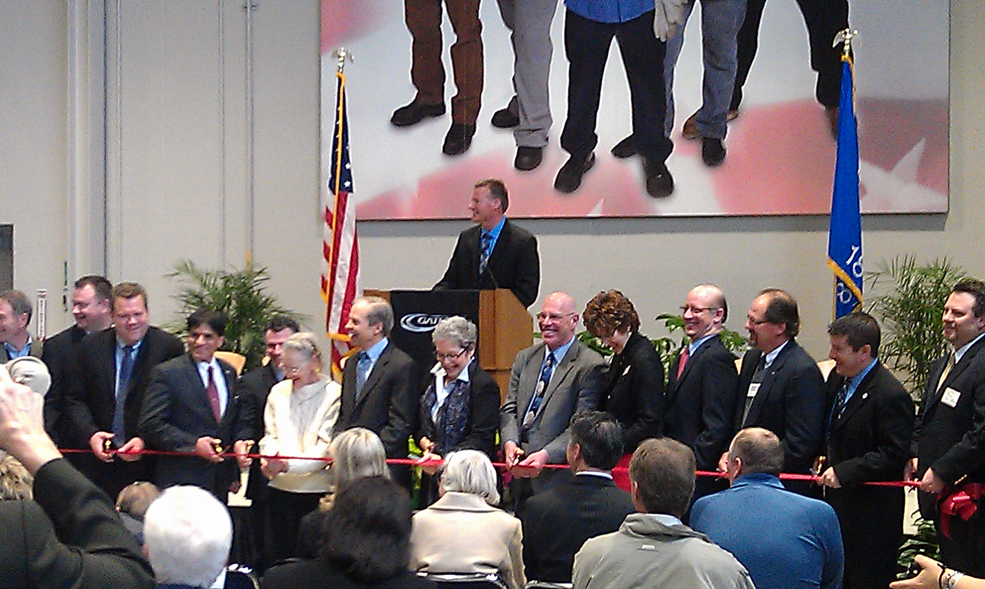 iMET Tarnowski Hall grand opening ribbon cutting ceremony